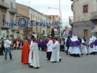 Venerdì Santo 2009: Piazza Vittorio Emanuele, la Via Crucis con le varie Confraternite-3.  - Villarosa (3412 clic)