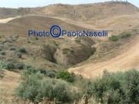 Contrada S.Rocco: strana formazione di profonde gole nel terreno.-3   - Villarosa (7065 clic)