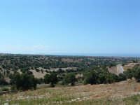 Paesaggio degradante verso il mare dal Castello di Donnafugata.  - Donnafugata (5198 clic)