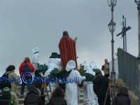 Venerdì Santo 2009: l'Acchianata al Calvario delle Confraternite e dei fedeli per la Via Crucis.  - Villarosa (4358 clic)