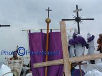 Venerdì Santo 2009: il Calvario prima della crocifissione di Cristo.  - Villarosa (3552 clic)