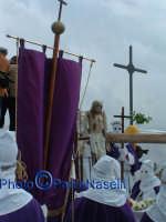 Venerdì Santo 2009: il Calvario prima della crocifissione con la statua di Cristo.  - Villarosa (3945 clic)
