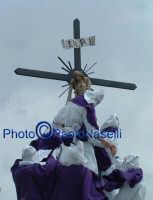 Venerdì Santo 2009: la crocifissione di Cristo-1.  - Villarosa (3379 clic)