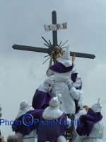 Venerdì Santo 2009: la crocifissione di Cristo-2.  - Villarosa (3429 clic)