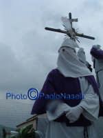 Venerdì Santo 2009: il cielo si oscura dopo la crocifissione di Cristo-1.  - Villarosa (4108 clic)