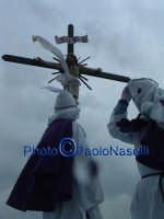 Venerdì Santo 2009: il cielo si oscura dopo la crocifissione di Cristo-2.  - Villarosa (5070 clic)