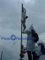 Venerdì Santo 2009: il cielo si oscura dopo la crocifissione di Cristo-8.  - Villarosa (3837 clic)
