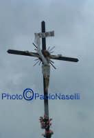 Venerdì Santo 2009: il cielo si oscura dopo la crocifissione di Cristo; tutto è compiuto.  - Villarosa (3824 clic)