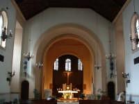 Chiesa di S.Rosalia, interno (Arch. Ernesto Basile)  - Palermo (7271 clic)
