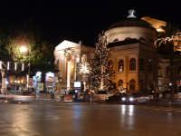 Natale 2003:luci al Teatro Massimo (4). PALERMO Paolo Naselli