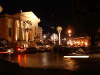 Natale 2003:luci al Teatro Massimo (5). PALERMO Paolo Naselli