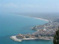Veduta del Castello e della costa verso Alcamo Marina  - Castellammare del golfo (1106 clic)