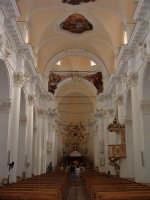 Chiesa di S.Carlo Borromeo, interno  - Noto (1881 clic)
