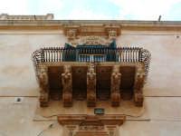 Palazzo Nicolaci, balcone barocco  - Noto (2051 clic)