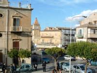 Piazza Vittorio emanuele vista dalla scalinata della Chiesa Madre.  - Villarosa (3314 clic)