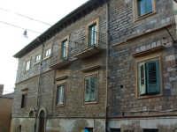 Via Buonarroti, , la ex caserma dei Carabinieri, oggi tutelata dalla Soprintendenza.  - Villarosa (3285 clic)