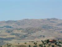 Campagna Villarosana d'estate,veduta verso la vallata del Salso  - Villarosa (5151 clic)