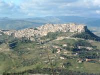 Panorama del paese dal Castello di Lombardia di Enna.  - Calascibetta (4604 clic)