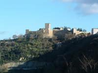 Castello di Lombardia ripreso dal Belvedere  della città. ENNA Paolo Naselli