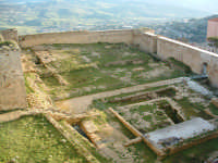 Castello di Lombardia,area attualmente oggetto di restauro e recupero funzionale.  ENNA Paolo Nasell