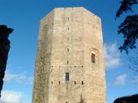 Torre di Federico,veduta dall'ingresso allo slargo.  - Enna (3286 clic)