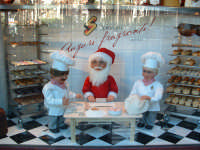 Natale 2003:vetrina Panificio Spinnato a Piazza Politeama.  - Palermo (6829 clic)