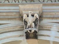 Teatro Politeama,aquila sovrastante l'arco di ingresso(Arch.Giuseppe Damiani Almeyda). PALERMO Paolo