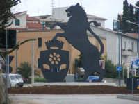 foto panoramica entrata in citta'  terra del gattopardo  - Santa margherita di belice (6171 clic)