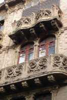 Palazzo delle Magnolie -particolare- CALTAGIRONE luciano spampinato
