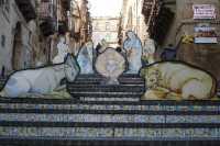 Il presepe della Scala S.M.del Monte  - Caltagirone (3963 clic)