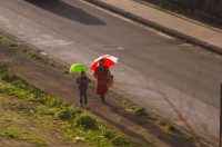 Pioggia dai colori vivaci CALTAGIRONE luciano spampinato