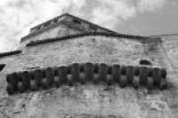 Chiesa SS.Salvatore -particolare prospetto secondario- CALTAGIRONE luciano spampinato
