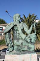 Fontana -particolare - CALTAGIRONE luciano spampinato