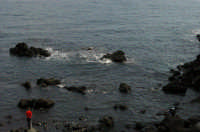 S.Tecla , il mare   - Acireale (2038 clic)