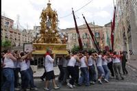 Reliqiario di San Paolo in processione  - Palazzolo acreide (3809 clic)