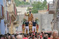 San Paolo in processione  - Palazzolo acreide (3636 clic)