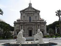 Veduta Chiesa di S,Sebastiano BARCELLONA POZZO DI GOTTO luciano spampinato