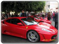 Sagra della castagna. Raduno Ferrari. Ottobre 2010   - Montagnareale (4004 clic)