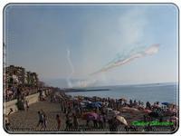 Le Frecce Tricolori. Luglio 2010   - Capo d'orlando (5861 clic)