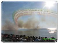 Le Frecce Tricolori. Luglio 2010   - Capo d'orlando (4767 clic)