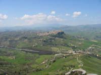 Veduta dall'alto del Castello Lombardia di Enna. Aprile 2007 ENNA TINDARO BUZZANCA