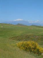 Panorama campestre con Etna sullo sfondo.  - Agira (3270 clic)