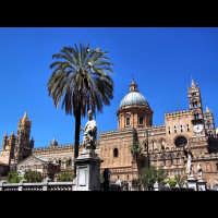 prospettiva sulla cattedrale di Palermo. palermo's chatedral PALERMO Gabriele Saito