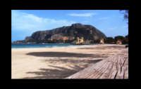 scorcio della spiaggia di mondello e monte pellegrino  - Mondello (2517 clic)