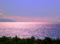 tramonto sul mare  - Milazzo (6643 clic)