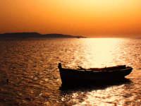 tramonto trapani tramonto sul mare dalle saline di trapani  - Egadi (14213 clic)