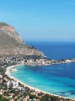 panoramica da monte pellegrino  - Mondello (10371 clic)