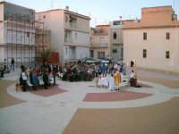 Messa all'aperto nel quartiere popolare Cave Grazie di Comiso  - Comiso (5190 clic)