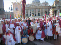 Confraternita di Sant'Antonio Abate di Troina a Roma per l'udienza generale del Papa Benedetto XVI.  - Troina (4190 clic)