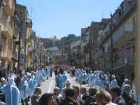 Particolare della processione della mattina di Pasqua a Troina.  - Troina (12720 clic)
